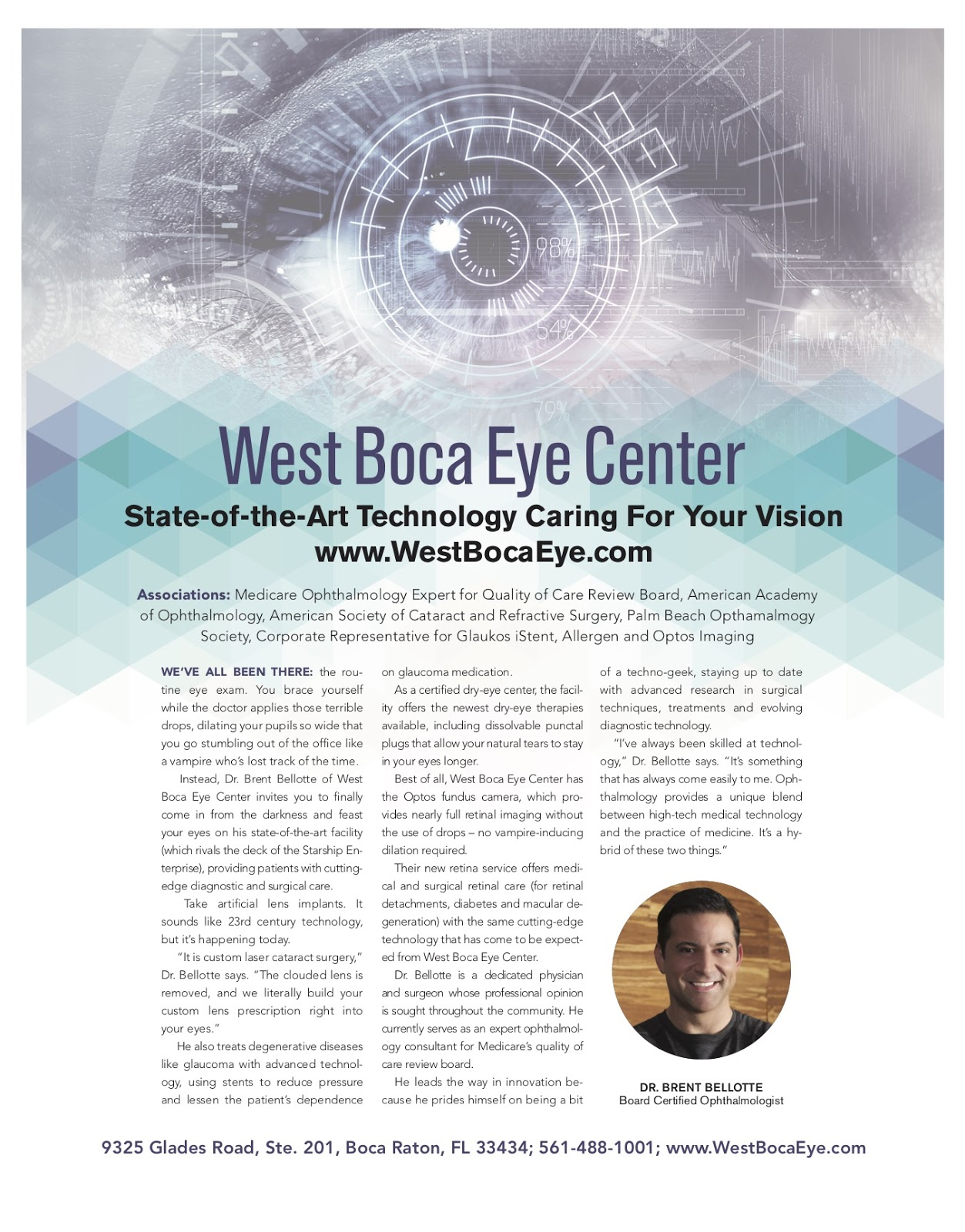 State-of-the-Art Technology Caring For Your Vision