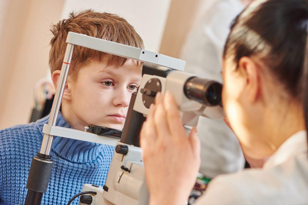 Children's eye doctor