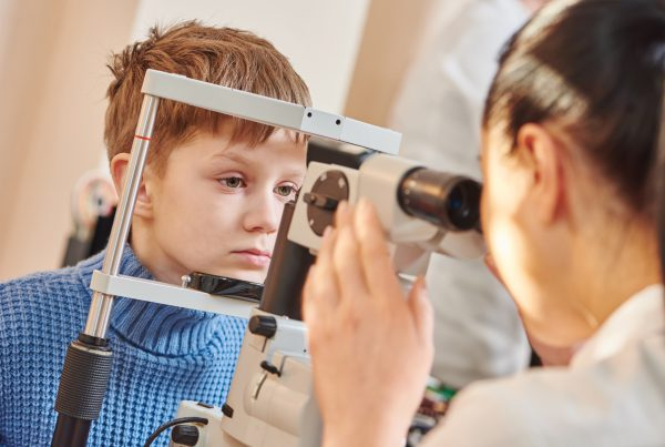 Children's eye doctor
