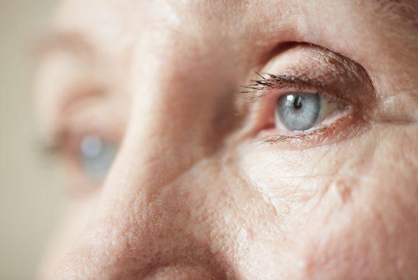 Elderly eye