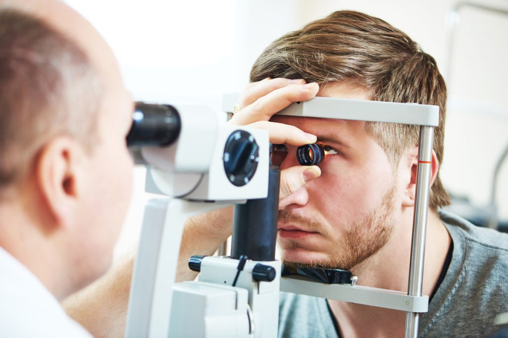 eye doctor appointment