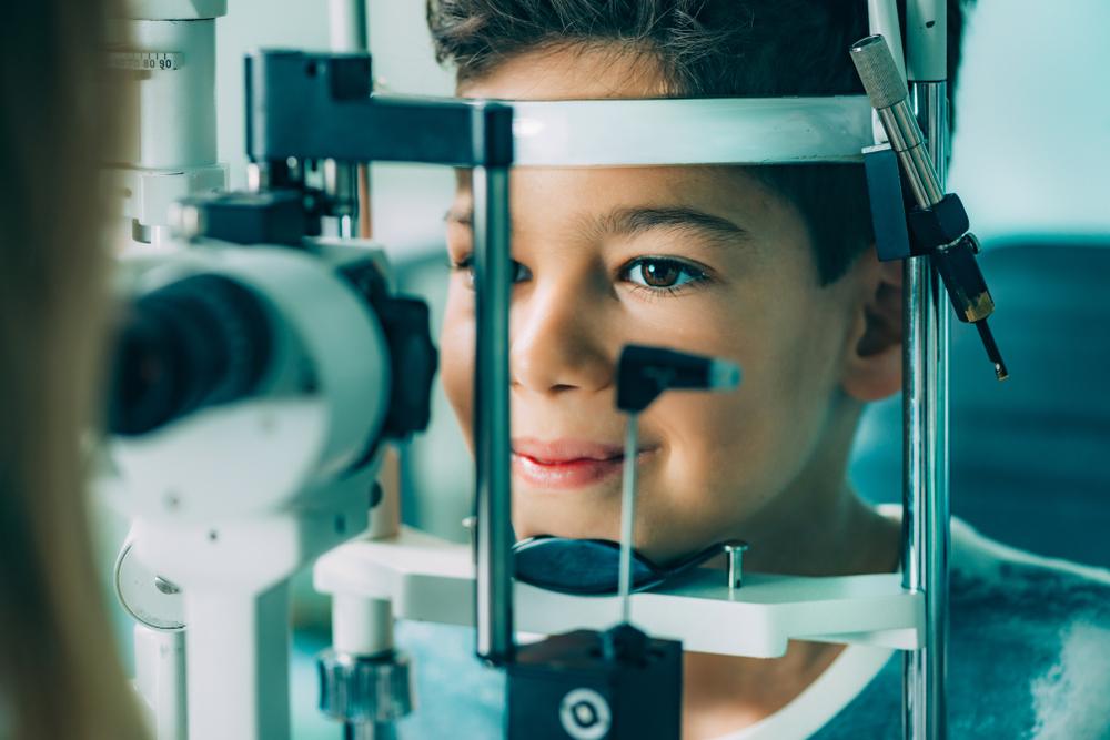 Child, Eye exams